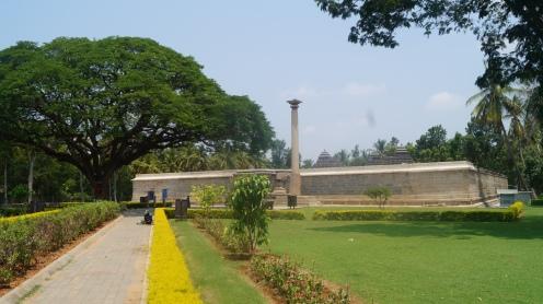 View inside main Somanathpur complex
