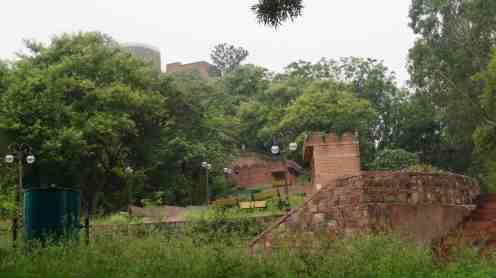 Ruins inside Bhim Garh Fort Reasi Jammu