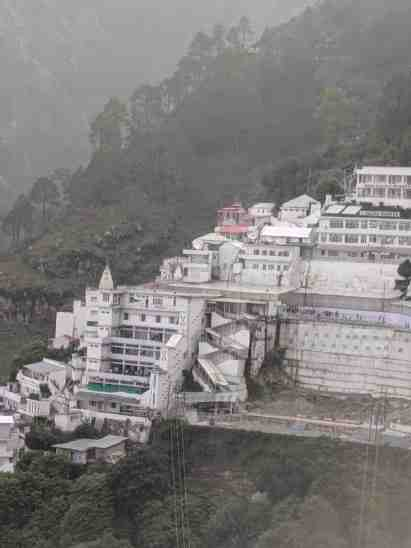 Vaishno Devi Temple View