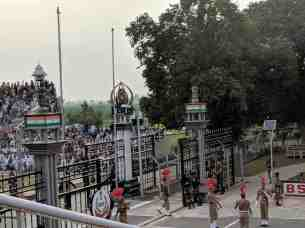 Closing of the Gates at Attari Wagah