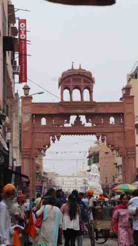Entrance to Heritage Market Area