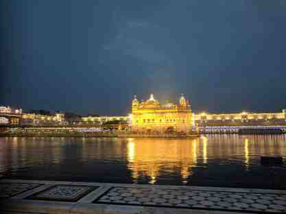Golden Temple at Sunrise