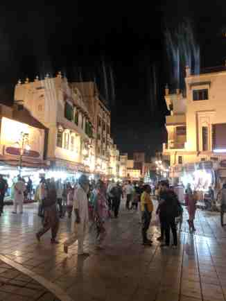 Golden Temple Heritage street at night