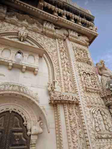 Karni Mata Entrance Stone Work