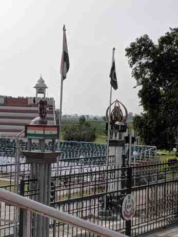 The Attari Wagah Border
