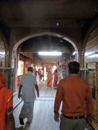 Walking through the corridors of Salasar Dham